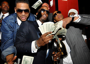 """Nelly, Sean """"Diddy"""" Combs, & Jay Z"""